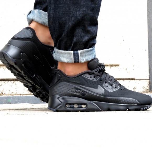 hot sale online 4f00a b0cc1 🏴New Nike Air Max 90 Ultra M🏴 Triple Black